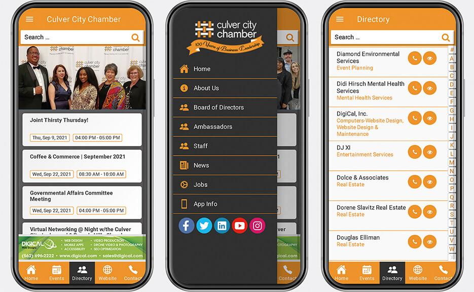 Culver City Chamber App