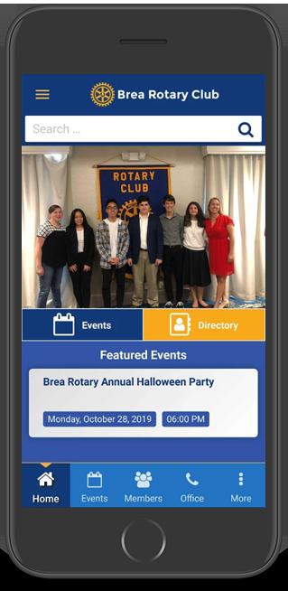 Brea Rotary Club App