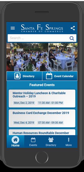 Santa Fe Springs Chamber App